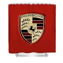 Porsche Power Red 111216 Shower Curtain