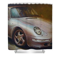 Porsche Shower Curtain