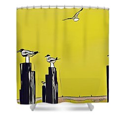 Port A Shower Curtain