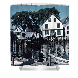 Port Clyde Maine Shower Curtain
