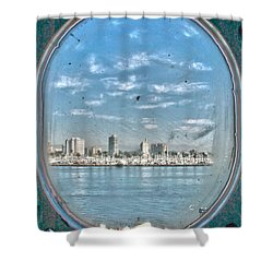 Port Hole  Shower Curtain