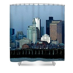 Port Of Boston Shower Curtain