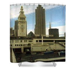 port of San Francisco  Shower Curtain