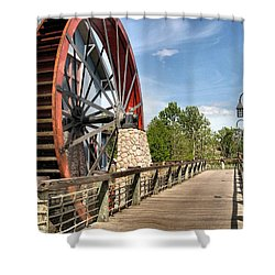 Port Orleans Riverside IIi Shower Curtain