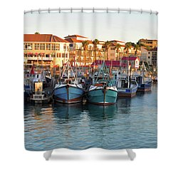 Port St. Francis Shower Curtain