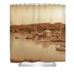 Port Stanley Waterway Shower Curtain
