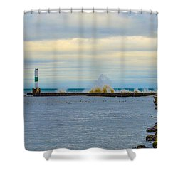 Port Washington Light 1 Shower Curtain