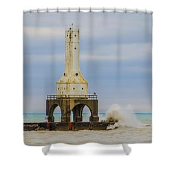 Port Washington Light 3 Shower Curtain