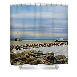 Port Washington Light 6 Shower Curtain