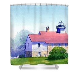 Port Washington Lighthouse Shower Curtain