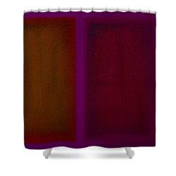 Portal Shower Curtain by Charles Stuart