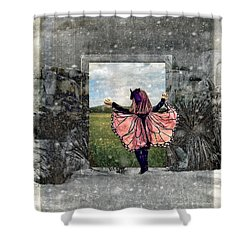 Portal Into Spring Shower Curtain