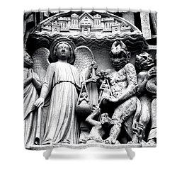 Portal Of The Last Judgement Shower Curtain