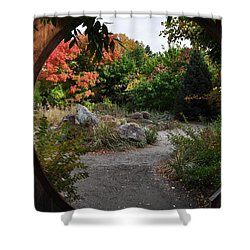 Portal To Paradise Shower Curtain