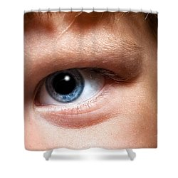 Portal To The Soul Shower Curtain by Christopher Holmes