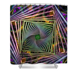 Portal Shower Curtain