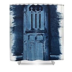 Portals Shower Curtain by Jane Linders