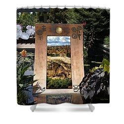 Portals Shower Curtain