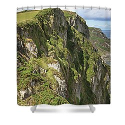 Portkill Cliffs Shower Curtain