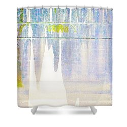 Portland Bridge Support Shower Curtain