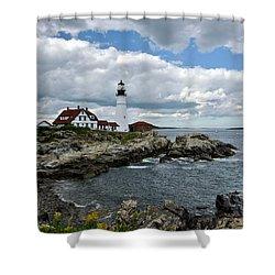 Portland Head Light, Starboard Shower Curtain