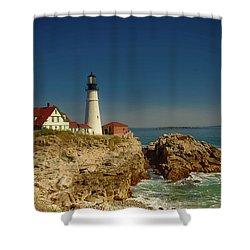 Portland Head Lighthouse 2 Shower Curtain