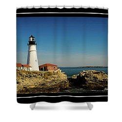Portland Head Lighthouse 7 Shower Curtain