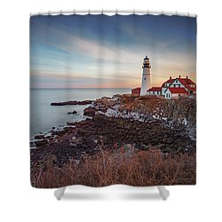 Portland Headlight Shower Curtain