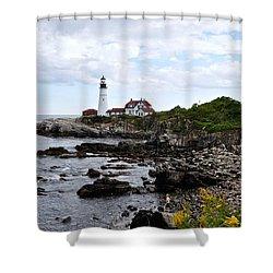 Portland Headlight II Shower Curtain