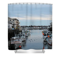 Portland Maine  Shower Curtain