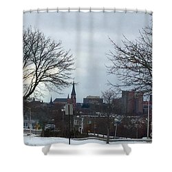 Portland, Maine, My City By The Bay Shower Curtain