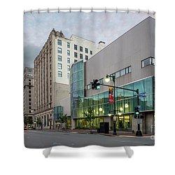 Portland Public Library, Portland, Maine #134785-87 Shower Curtain