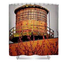 Portland Water Tower IIi Shower Curtain
