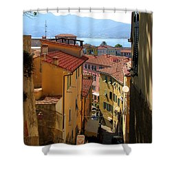 Portoferraio Elba Shower Curtain