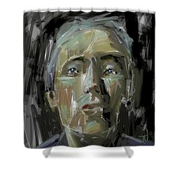 Portrait - 10march2017 Shower Curtain by Jim Vance