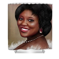 Portrait Commision  Shower Curtain