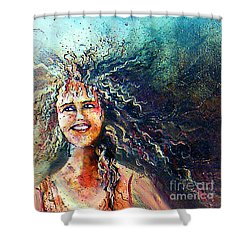 Portrait Me Shower Curtain