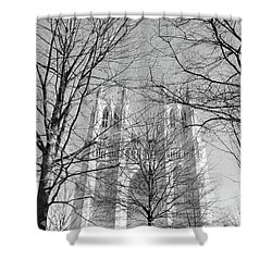 Portrait Of A Cathedral Shower Curtain