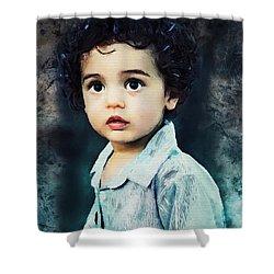 Portrait Of A Child Shower Curtain