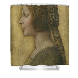 Portrait Of A Young Fiancee Shower Curtain