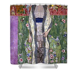 Portrait Of Adele Bloch-bauer II Shower Curtain by Gustav Klimt