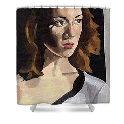 Portrait Of Becca Shower Curtain