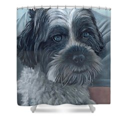 Portrait Of Charley Shower Curtain