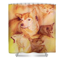 Portrait Of Chi Chi Shower Curtain