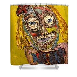 Portrait Of Finja Shower Curtain