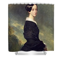 Portrait Of Francisca Caroline De Braganca Shower Curtain