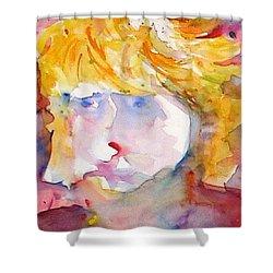 Portrait Of Graham Shower Curtain