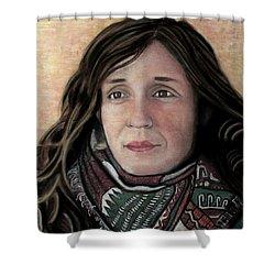 Portrait Of Katy Desmond, C. 2017 Shower Curtain