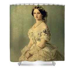 Portrait Of Princess Of Baden Shower Curtain