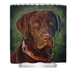 Portrait Of Remington 0094_2 Shower Curtain